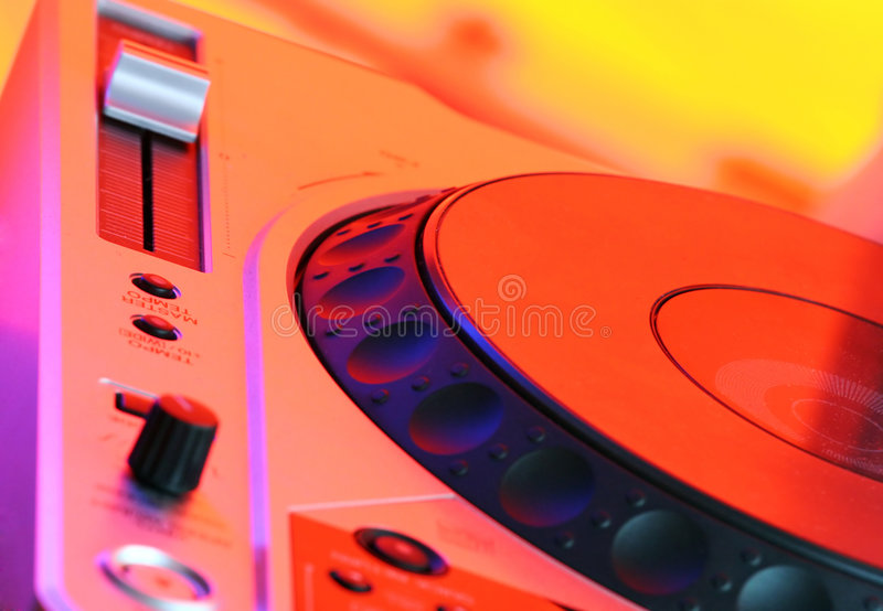 Professional CD Player royalty free stock photo