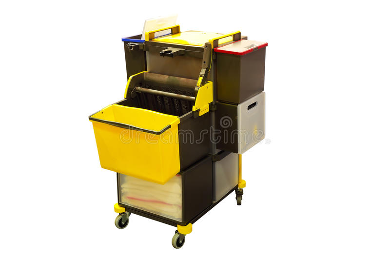 Professional Cleaning Equipment stock photography