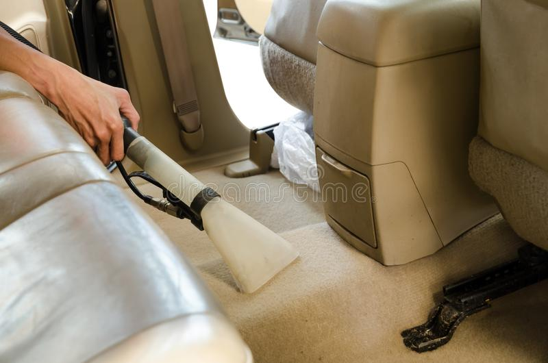 Professional Cleaning Of Interior Back Seats Carpet SUV Model C ...