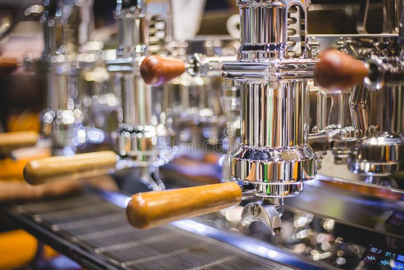 Espresso machine royalty free stock image