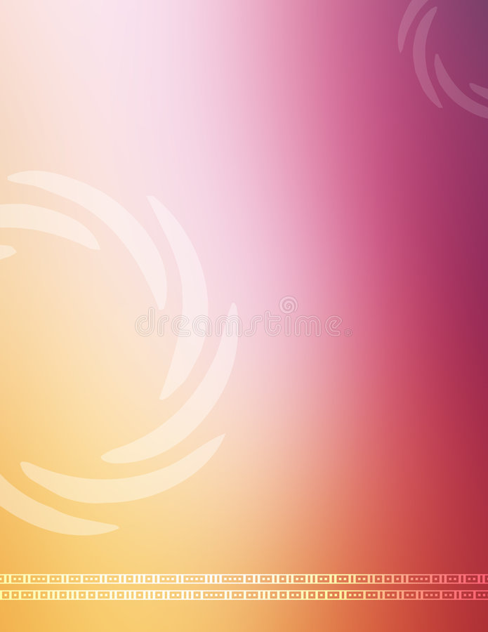 Professional colorful background royalty free illustration