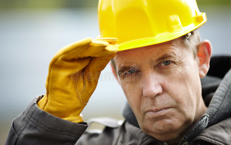 Professional construction royalty free stock photos