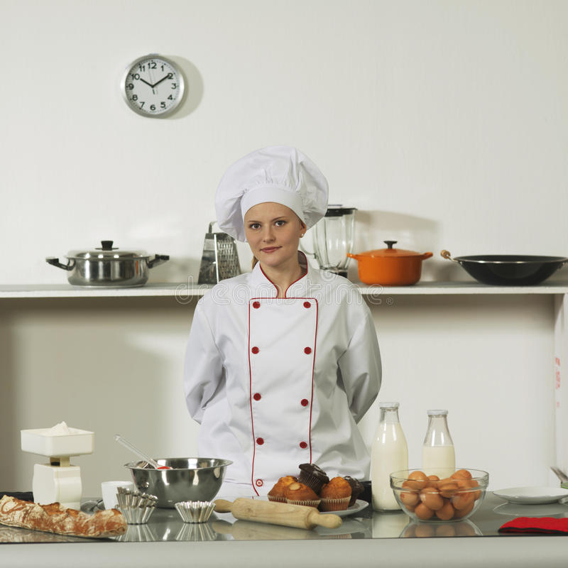Professional cook royalty free stock photography