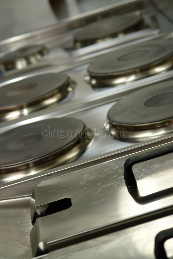 Free Professional Cooking Range Stock Photography - 1753772