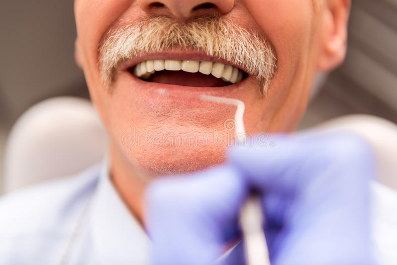 Professional dentist office royalty free stock image