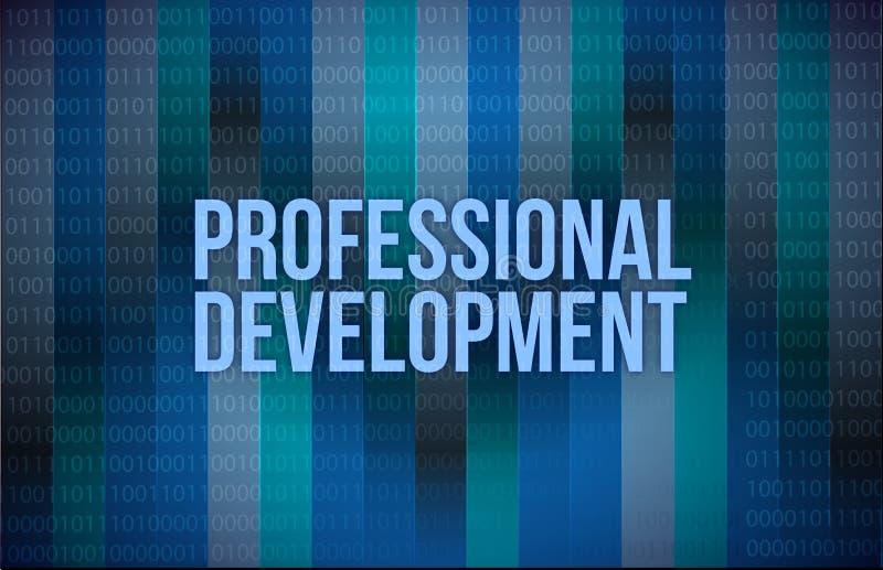 Download Professional Development Concept Binary Stock Illustration - Image: 28787638