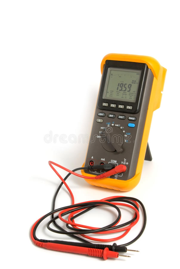 Download Professional Digital Multimeter Royalty Free Stock Photography - Image: 13360817
