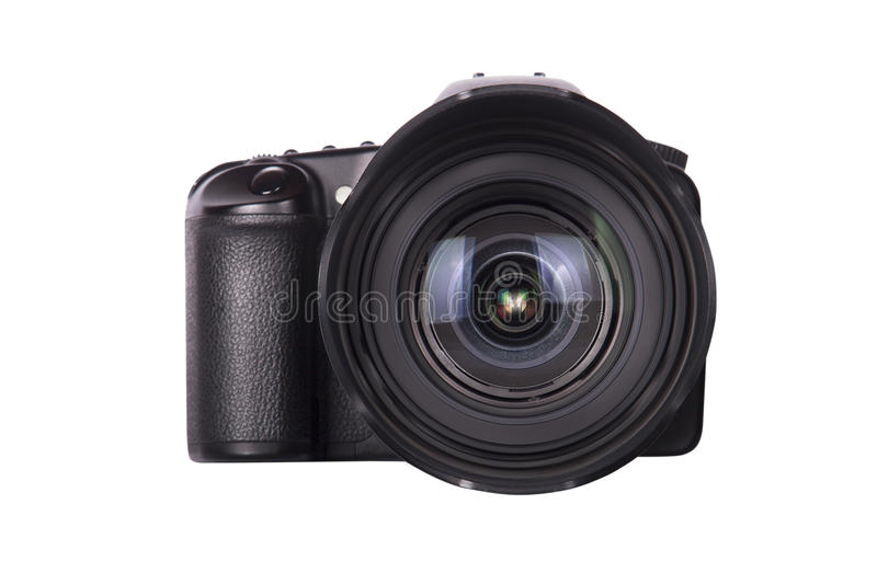 Professional digital photo camera isolated royalty free stock images