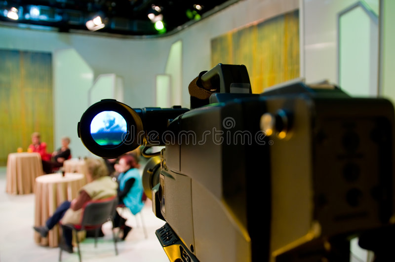 Download Professional Digital Video Camera Stock Image - Image: 4869871