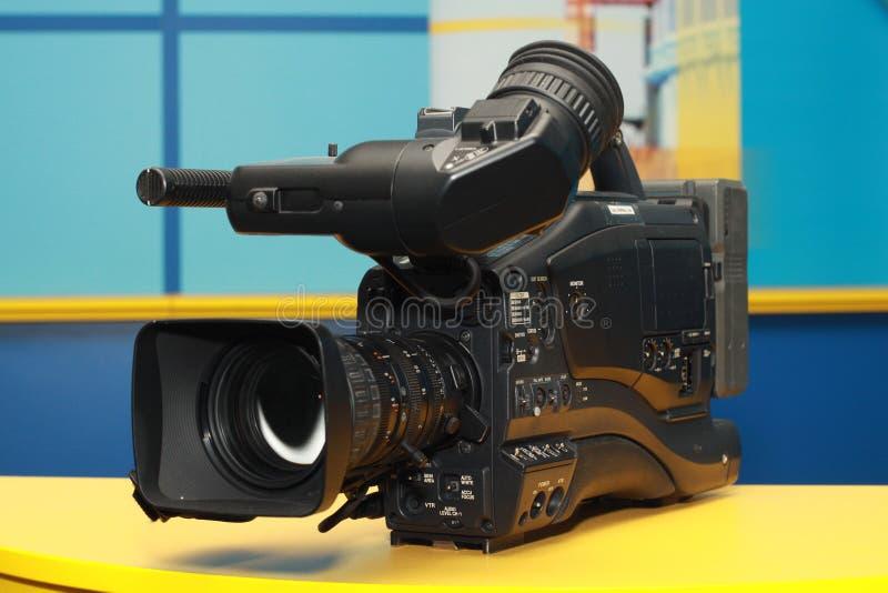 Professional digital video camera royalty free stock photo