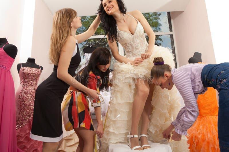 Professional fashion designer studio royalty free stock photos