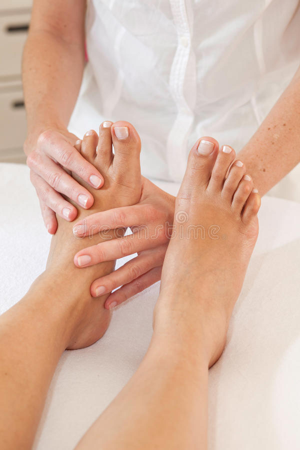 Download Professional feet massage stock image. Image of rubbing - 26500679