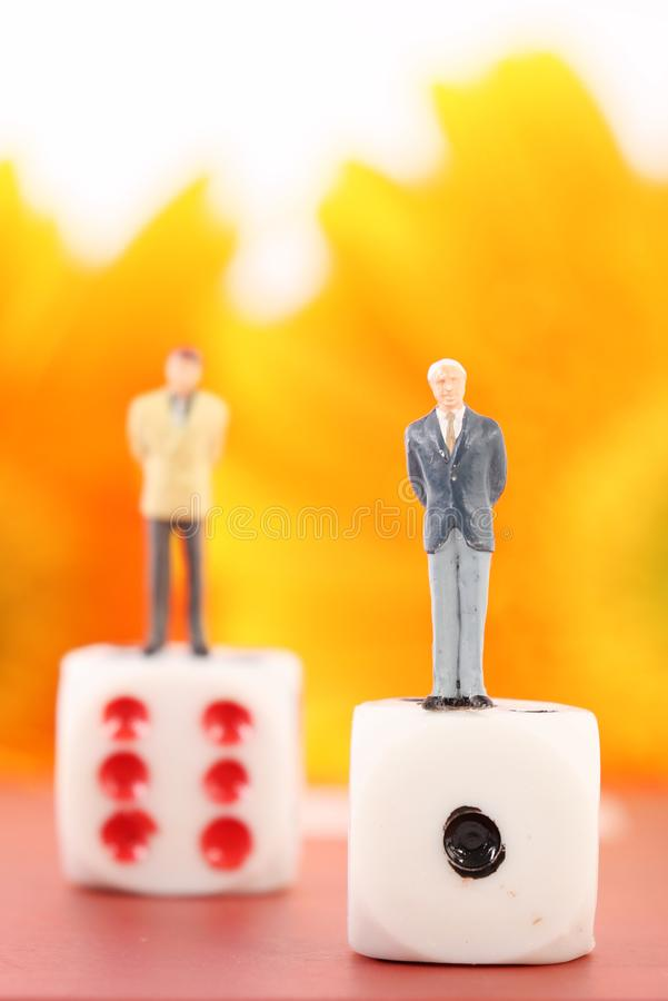 Professional figurines stock images