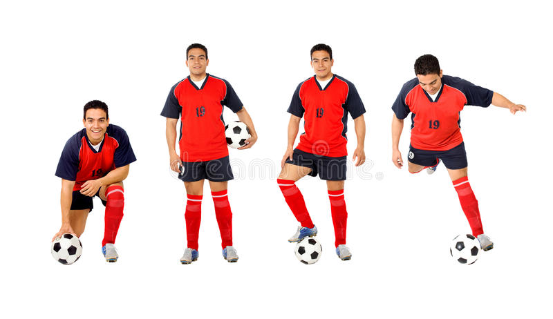 Download Professional footballer stock image. Image of adult, person - 9846351