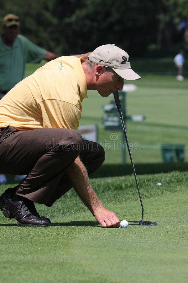 Professional Golfer Jim Furyk stock photos