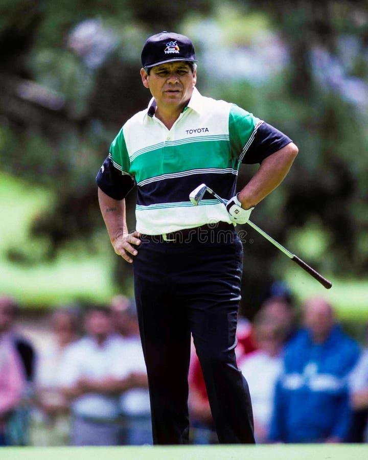 Professional Golfer Lee Trevino stock photos