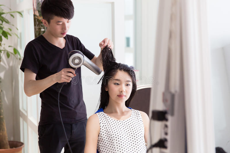 download professional hair stylist stock photo image 75048922 - Professional Hair Stylist