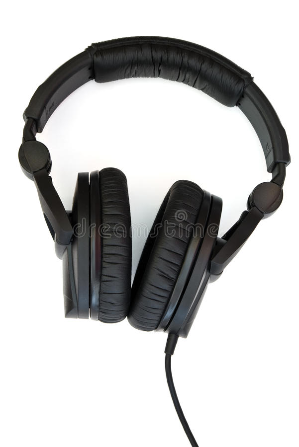 Download Professional headphones stock photo. Image of leather - 10628996