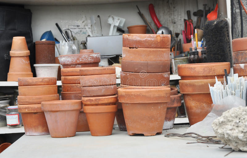 Download Professional Horticulture Workspace Stock Photo - Image of items, professional: 16553724