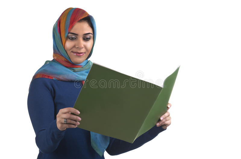 Professional islamic executive wearing traditional royalty free stock photography