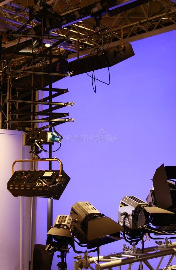 Download Professional Lighting Equipment In Studio Stock Image - Image: 8437211