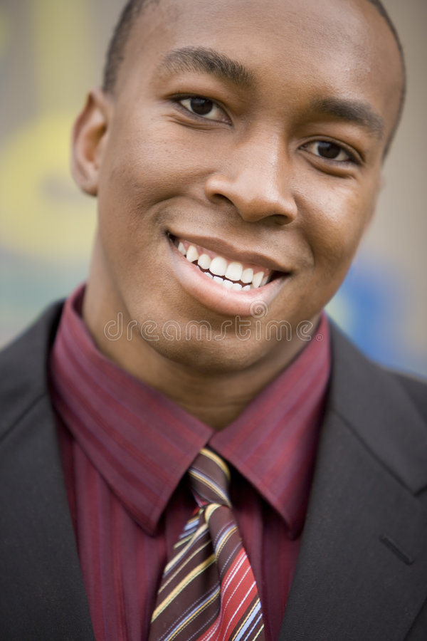 Professional Male. Young male professional smiling stock photo