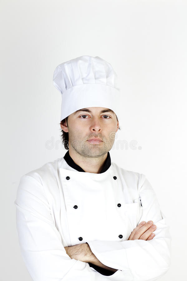 Download Professional male Chef stock photo. Image of happiness - 22699200