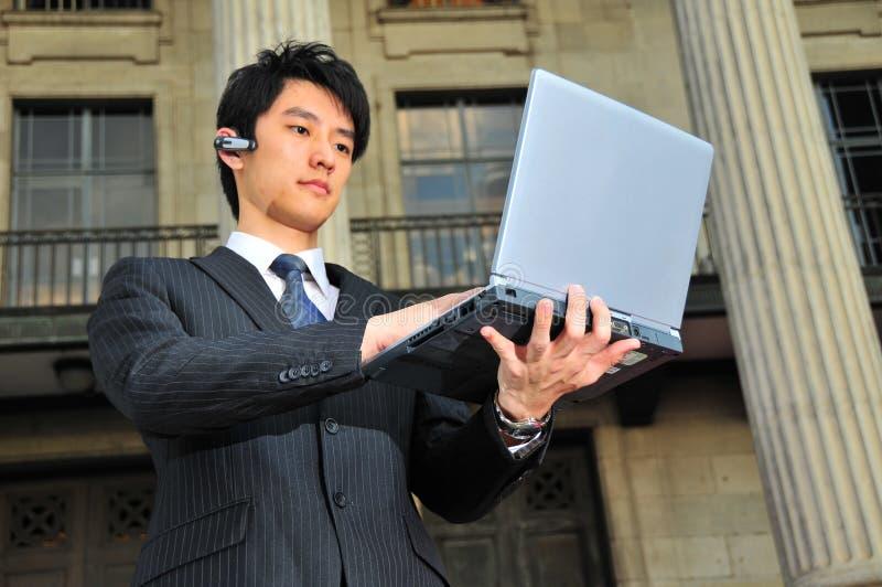 Professional Man working 2 stock photos