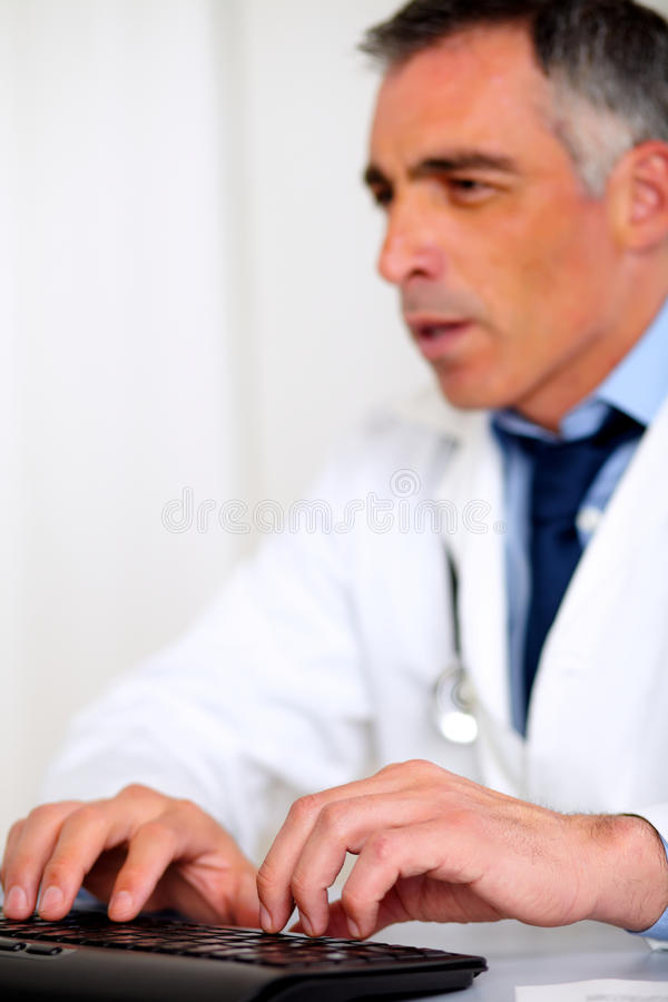 Download Professional Medical Specialist Working Stock Image - Image: 24877191