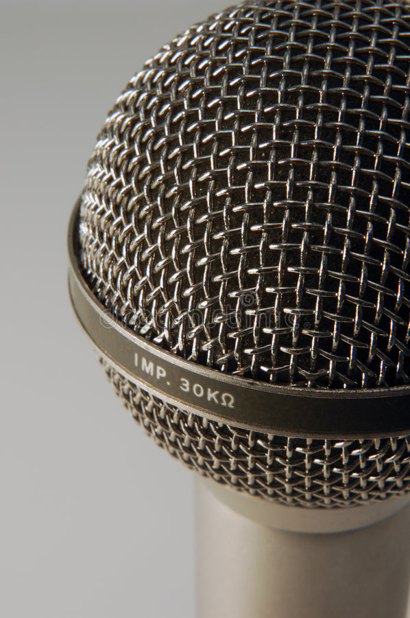 Download Professional Microphone stock image. Image of speech, greeting - 1507225