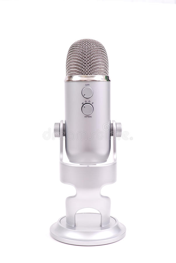 Professional Microphone Royalty Free Stock Photos