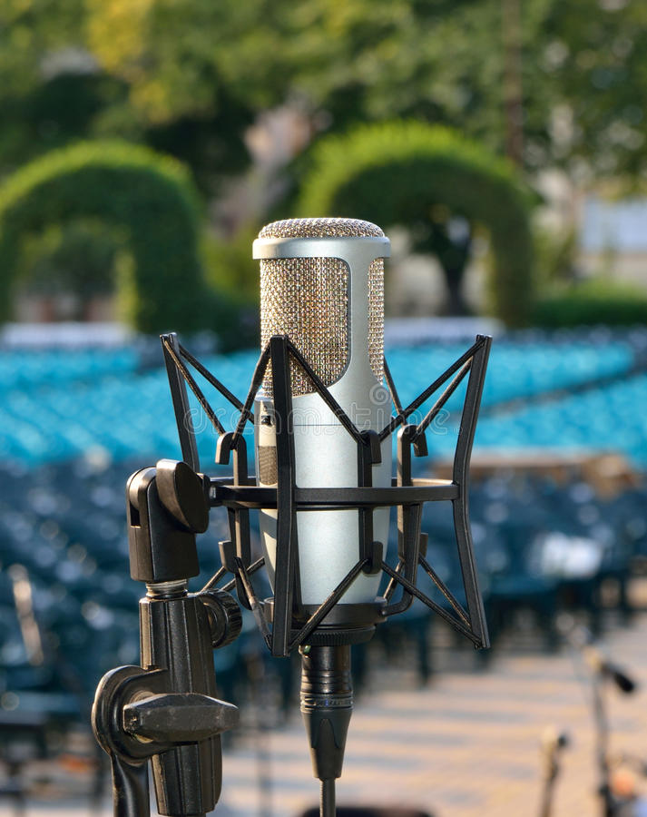Download Professional Microphone Royalty Free Stock Photo - Image: 35803325