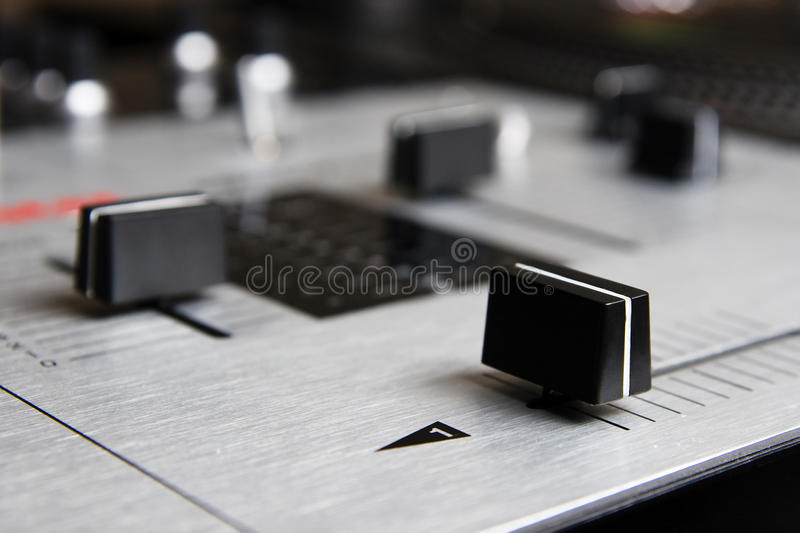 Download Professional Mixing Controller Of A Dj Stock Photo - Image: 26476684