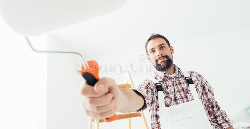 Professional painter royalty free stock photos