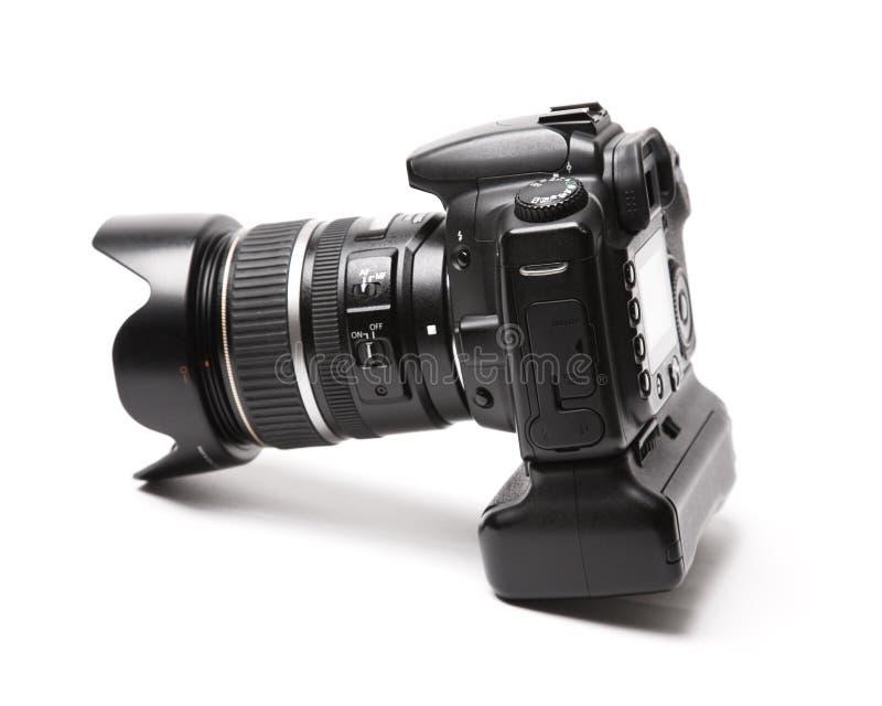 Professional photo camera stock photos