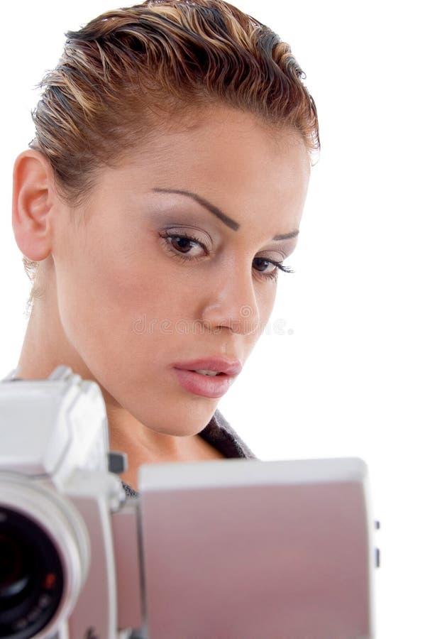 Download Professional Photographer Holding Camera Stock Image - Image: 7115759