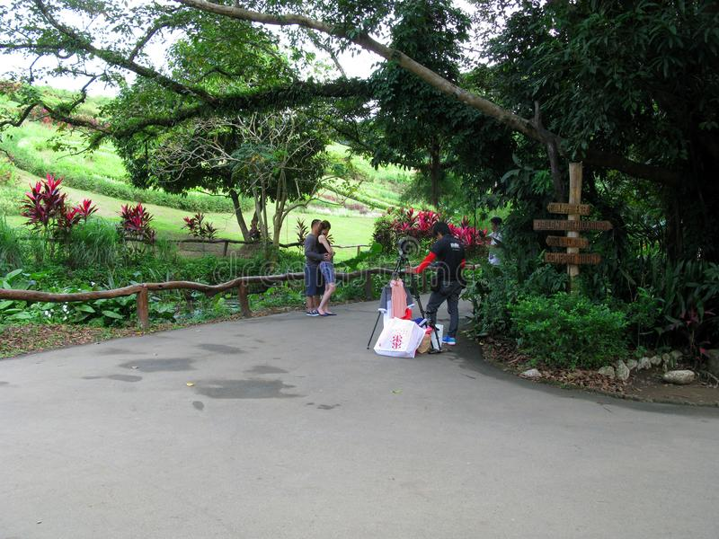 Professional Photography, La Mesa Ecopark, Quezon City, Philippines. Prenuptial shoot with professional photographers, La Mesa Ecopark, Quezon City, Metro Manila stock photos