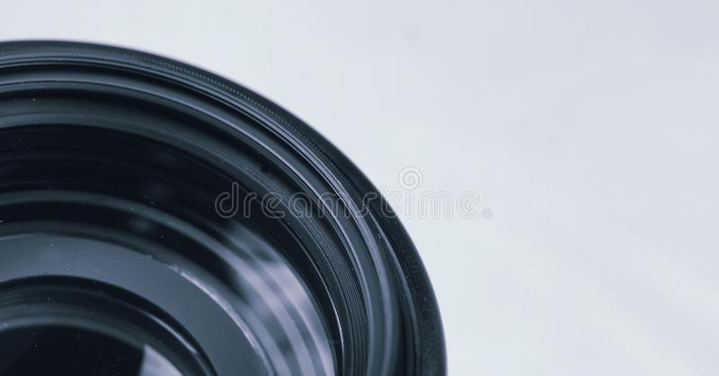 Professional photography lenses and macro stock photos