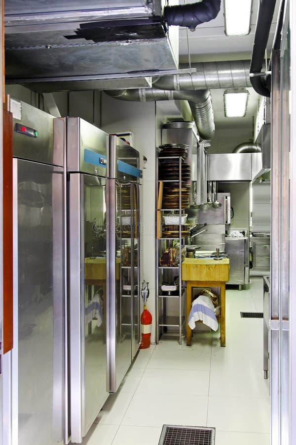 Professional refrigerators stock image