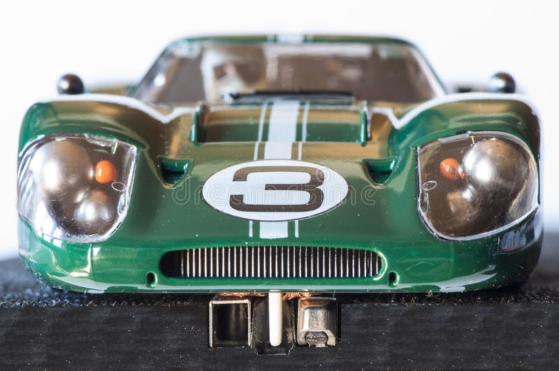 Slot car royalty free stock image
