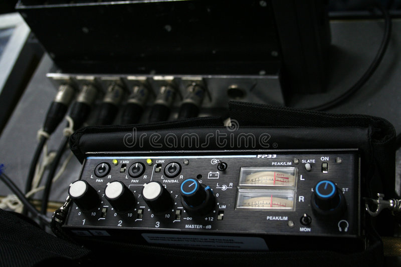 Download Professional Sound Mixer Stock Photography - Image: 1894372