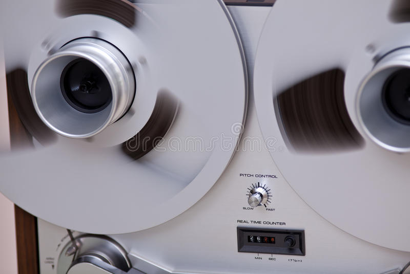 Download Professional Sound Recording Tape Stock Photo - Image of knob, sound: 23472914