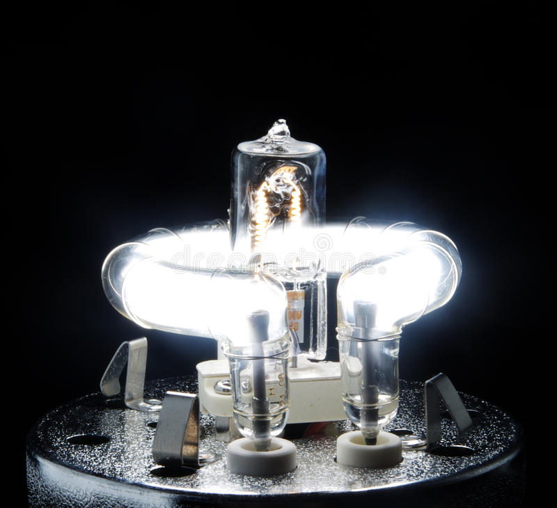 Free Professional Studio Flash Bulb Royalty Free Stock Photography - 11089687