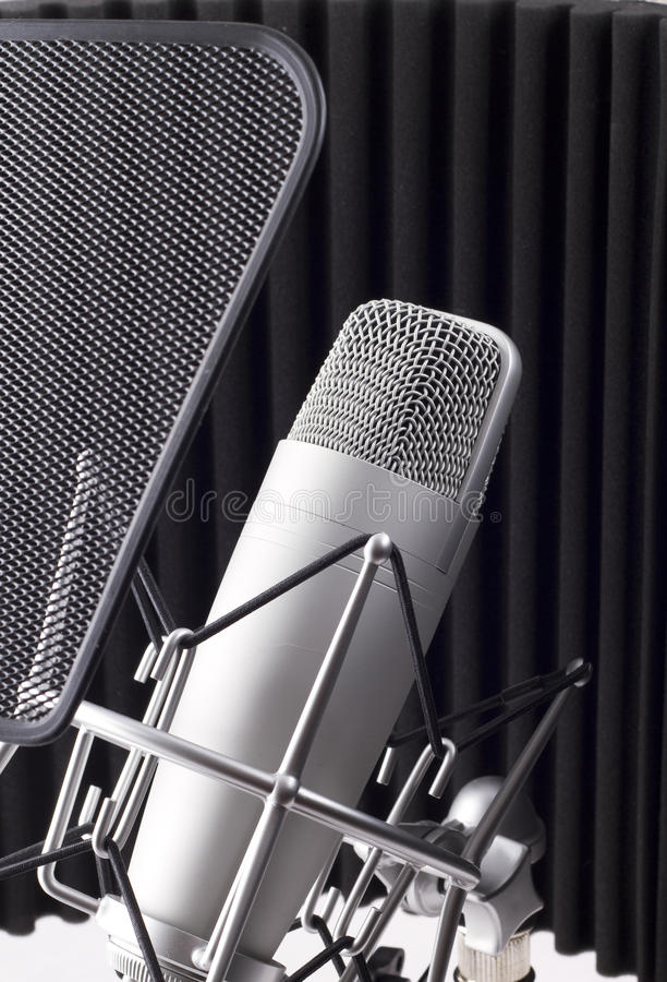 Download Professional Studio Microphone Royalty Free Stock Photo - Image: 13093265