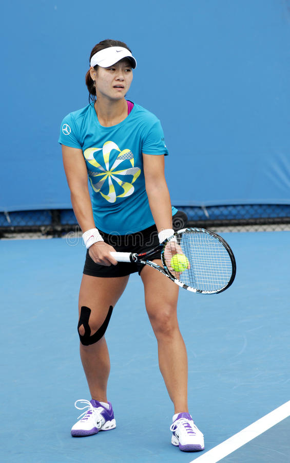 Download Professional Tennis At The 2012 Australian Open Editorial Photography - Image: 23861762