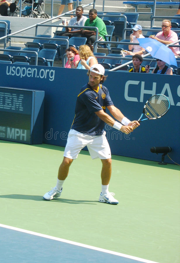 Download Professional Tennis Player Carlos Moya Practices For US Open Editorial Photo - Image: 31738666