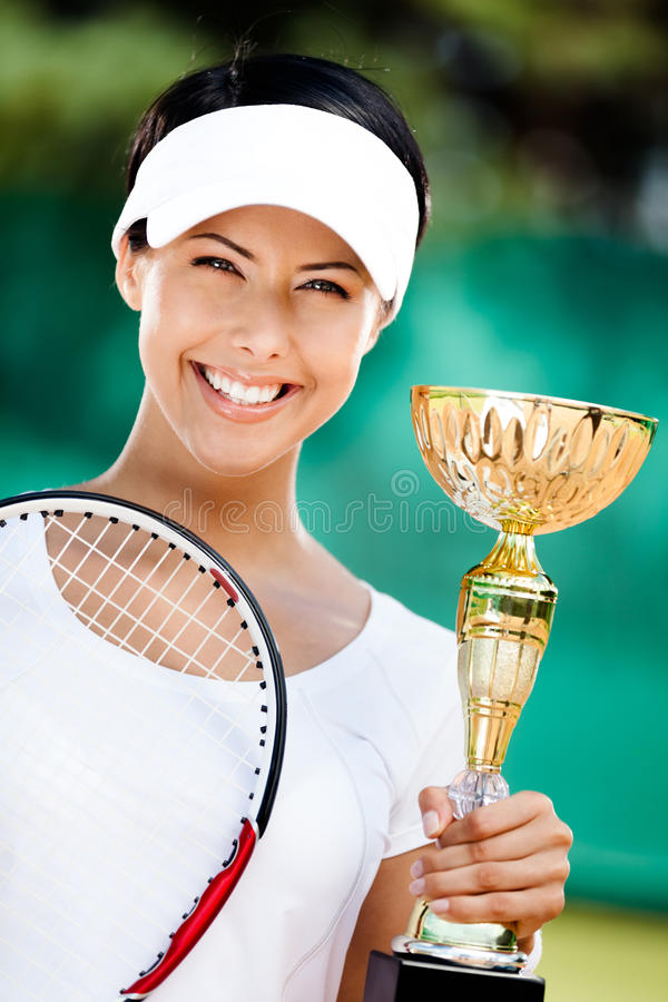Professional tennis player won the competition