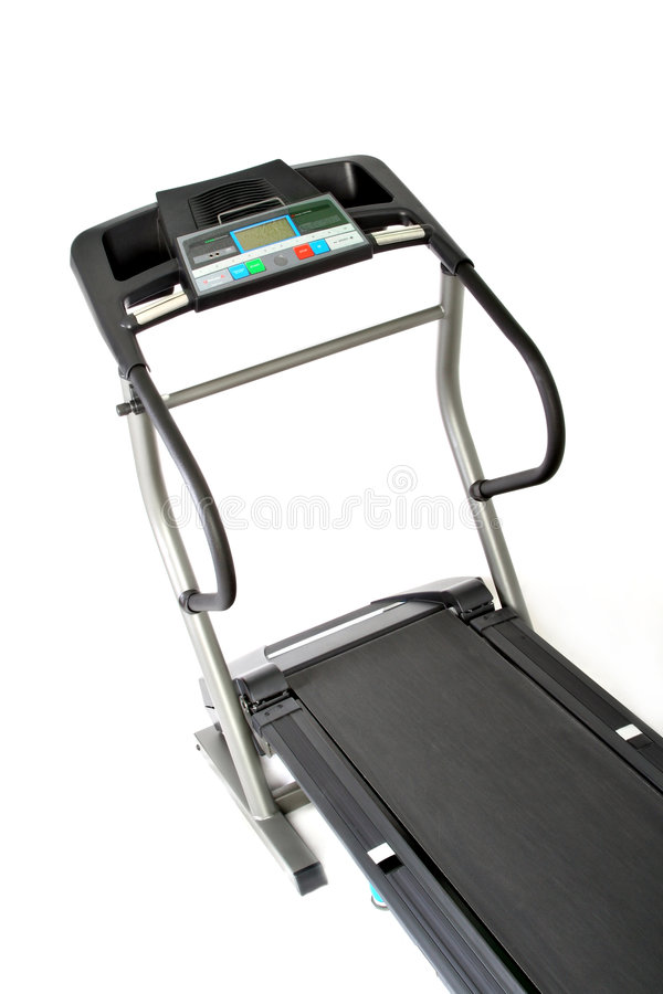 Download Professional Treadmill Isolated Stock Image - Image: 5201309