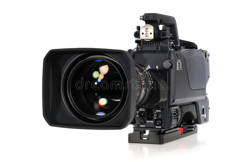 Download Professional Video Camera Royalty Free Stock Image - Image: 12876666
