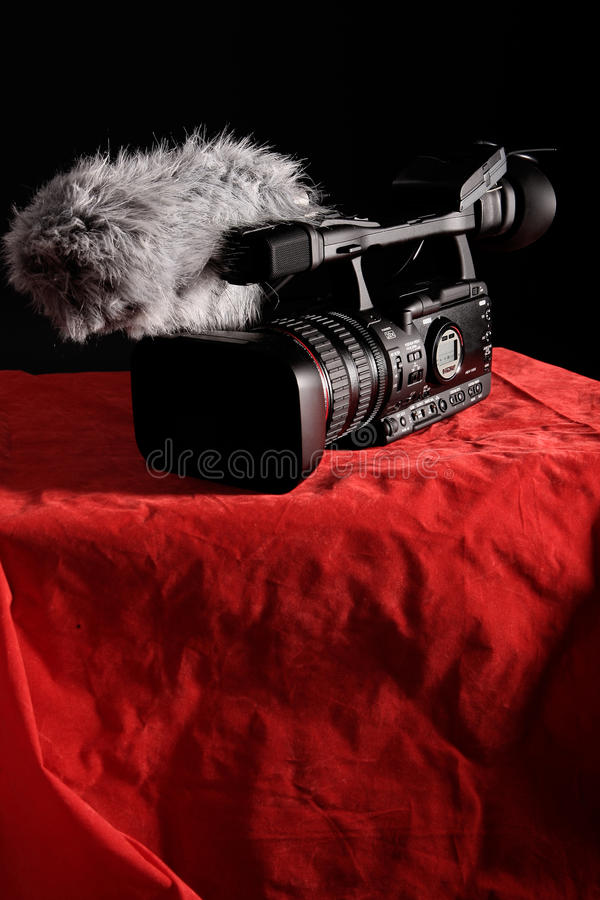 Download Professional video camera stock photo. Image of video - 20477756